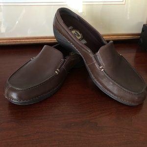 NWOT Merrell Leather Ortholite Mules